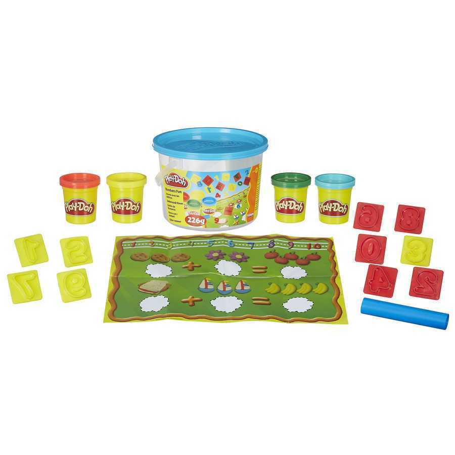 PLAY DOH MINI BALDE NÚMEROS -  23414