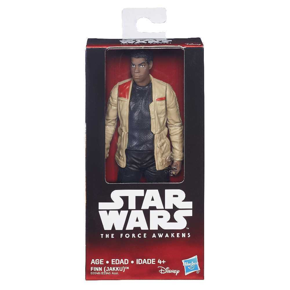 STAR WARS - EP VII FIG VALUE 6 ONDA - FINN - B3946
