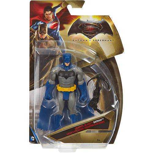 BATMAN FIGURAS BASICAS DC LAT 6 MOVIE - BATMAN AZUL - DJG28