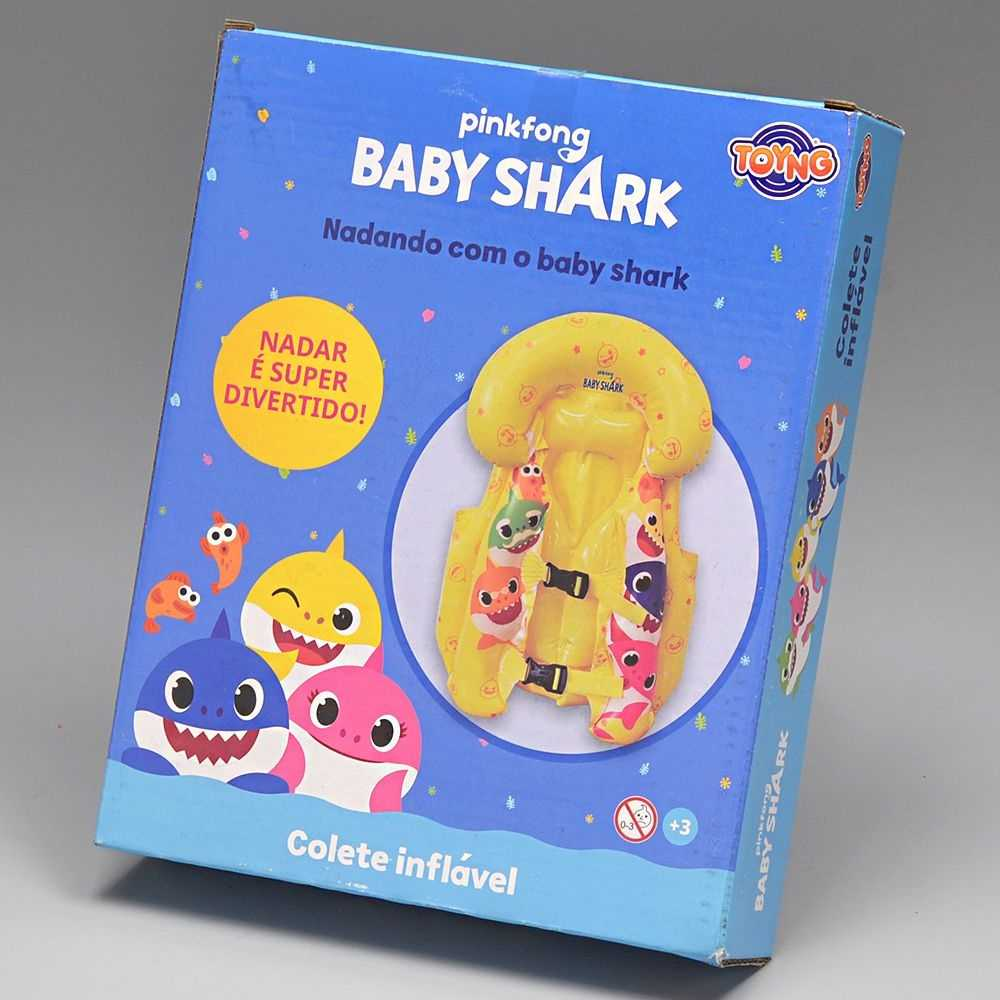 Colete Inflavel Baby Shark