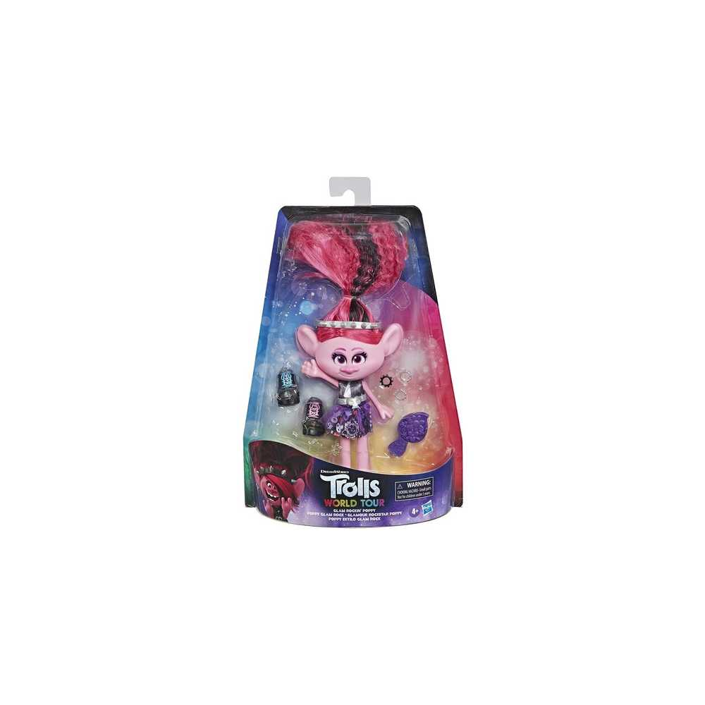 Trolls Poppy Estilo Glam Rock E6569 Figura Media